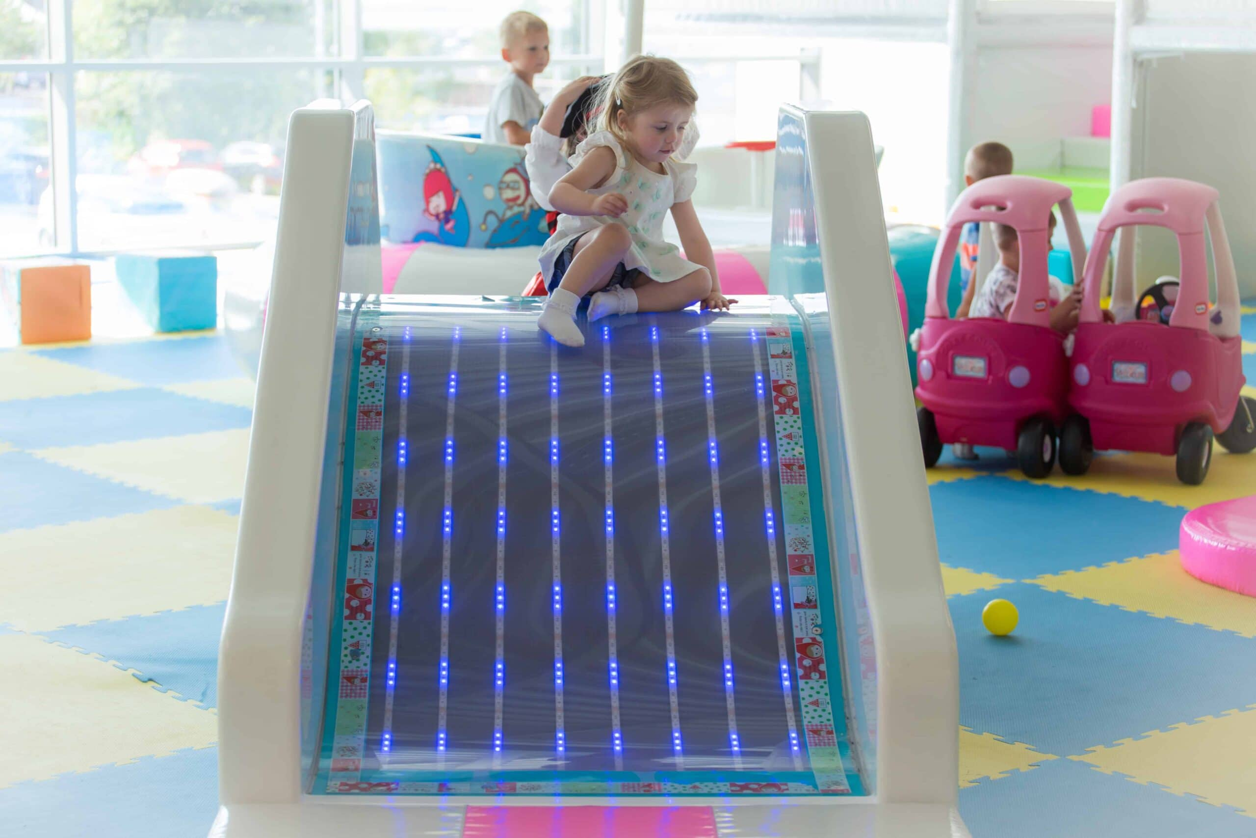 Skills, security and storytelling: 3 benefits of sensory soft play
