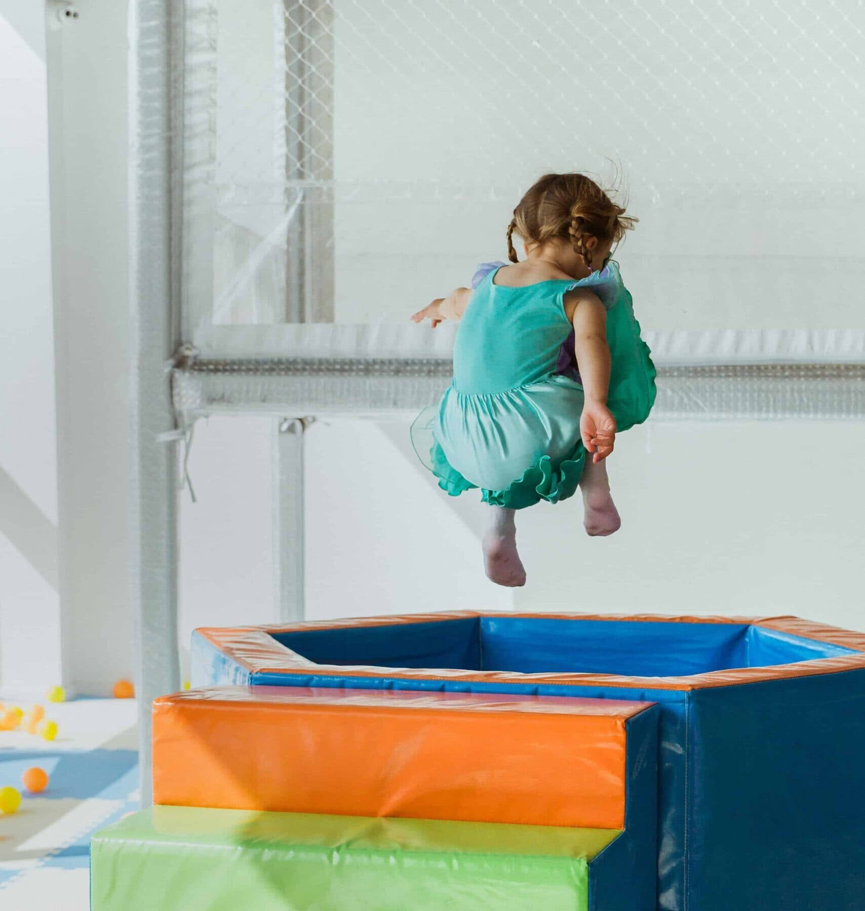 Soft play can prepare children for nursery