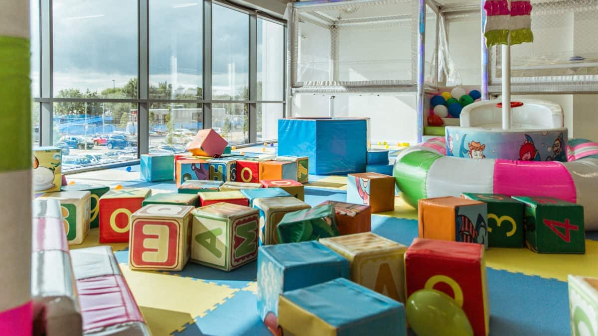 Soft play vs playing outdoors