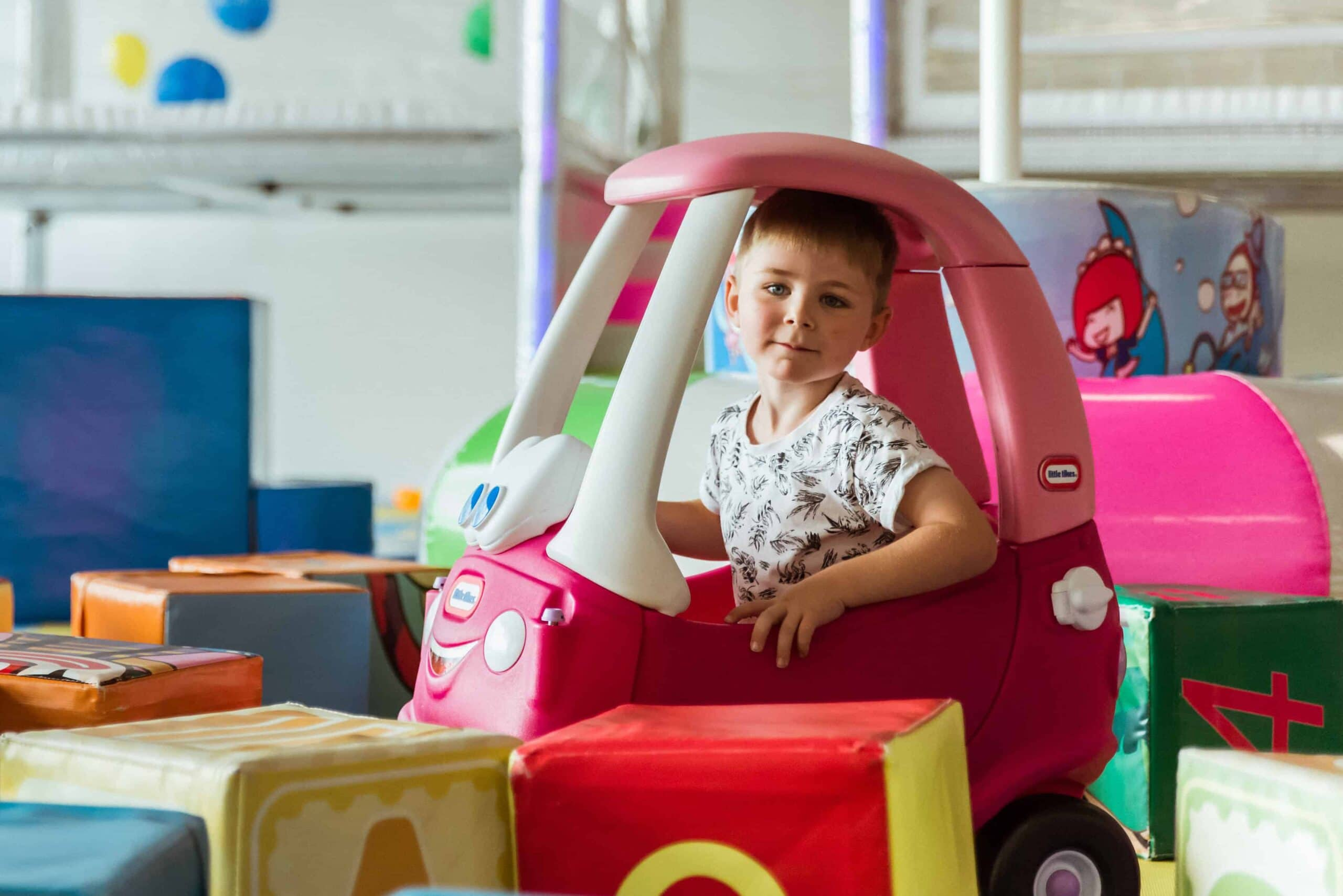 How can soft play help your child's motor skills develop?