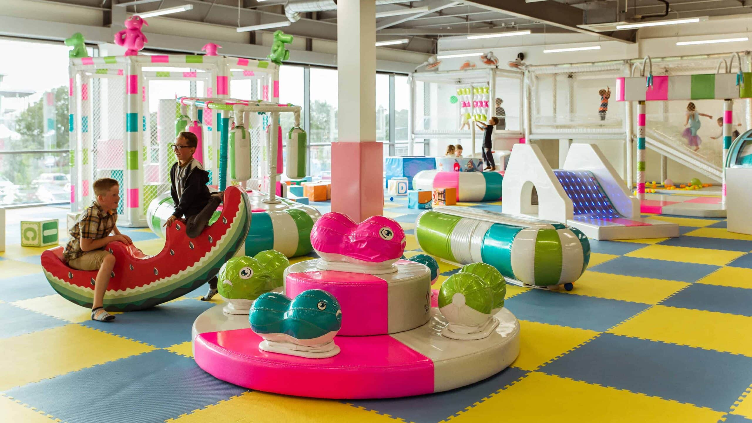 Why soft play is as good for parents as it is for children